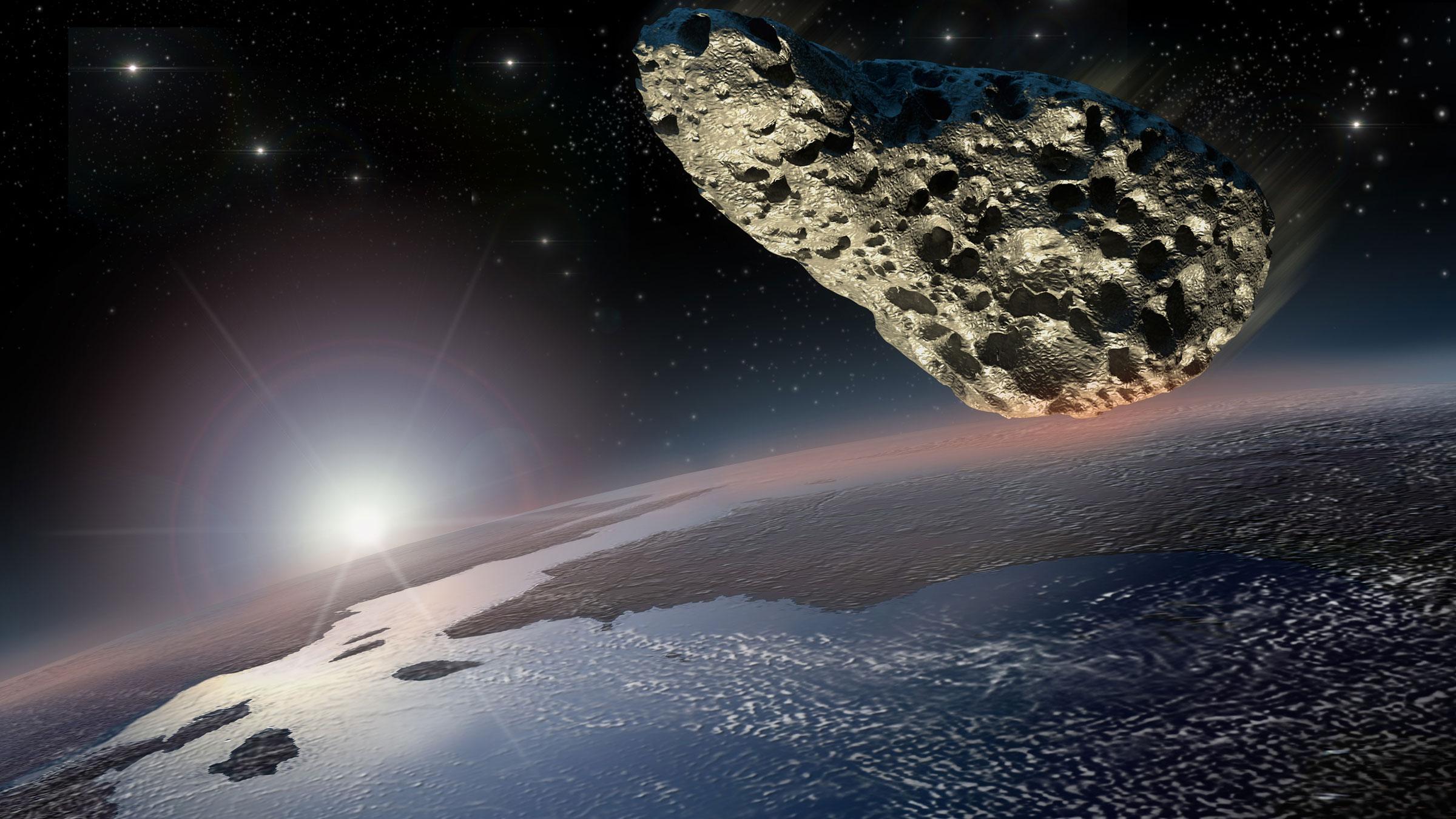 asteroid near earth 2019 - HD1905×1080